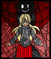 Stained Glass: Monster Girl by ChaosTearKitsune