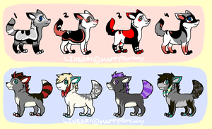 Pup Batch 2 by HappyDesigns