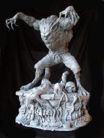 Wolfman Finished 1 by Blairsculpture