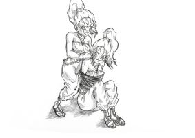 Marle kidnapped by Marle? by bloodsplach