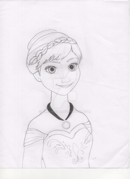 Templae Anna of Arendelle by aleangel3