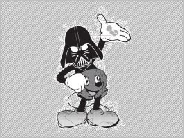 darth mouse by slipie