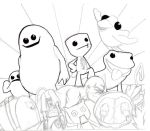 Together We're invincible! WIP BW by Pyroantiform