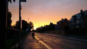 Sunset In The Suburbs by B455CANNON