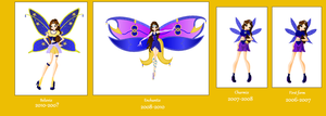 Mariana transfomations evolutions by Beatrice-Dragon-Team