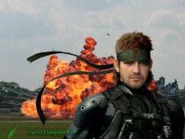 Papiel Solid Snake by Curi by curi222