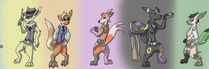 Eeveelution Posse by Weazel75