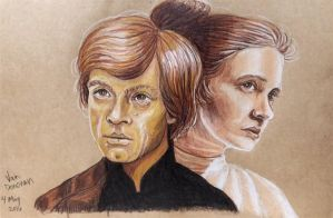 May the Fourth Be With You (Luke and Leia) by vandonovan
