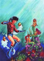 Aqualad by n3gative-0