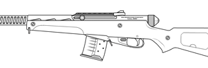 11mm Carbine thing by sharp-n-pointy