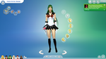 S4-Queen Destiny Magma As Sailor Pluto by Rose3212