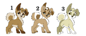 Pups - Closed by ArticWolf14