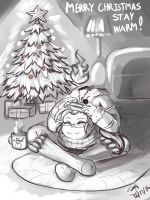 Keep Your Head Warm Christmas 2016 by MinionKing