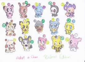 Chaos for Adoption 7 by LeniProduction