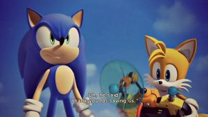 Sonic and Tails wallpaper by Hinata70756
