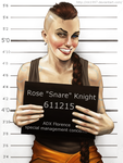 Rose 'Snare' Knight by clc1997