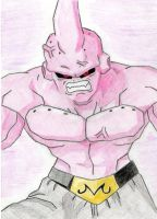 Really Quick Super Buu by migeamor
