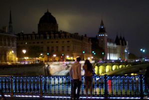 Nuit Blanche Paris by alahay