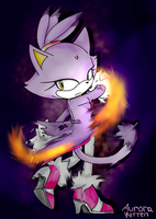 Blaze the cat by aurorakitten