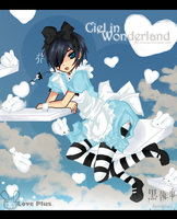 Ciel : In wonderland : by Ranniiee