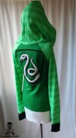Harry Potter Slytherin Hoodie by smarmy-clothes