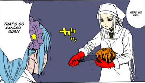 how to cut open a pumpkin by Darksoulmanga