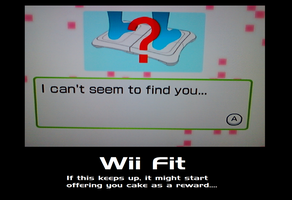 Wii Fit Motivational Poster by sukai-kitsune