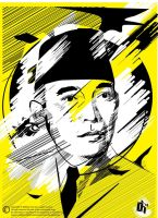 Bung Karno by clux-box