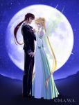 King Hyperion and Queen Hazuki by goddess-of-the-moon1
