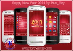 New Year 2011 by Blue_Ray by Brthemes