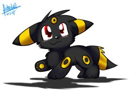 Chibi Umbreon Plz By Fluttertroll-d4jfmhh by Dmaris28