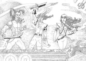 The Pirates of Dark Water by Luis HB by LuisHB1