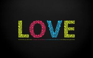 Love Typo wallpaper by hsajid2044