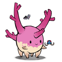 Corsola with friends by umbbe