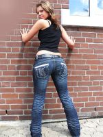 Jenna in Jeans by SpankingJeans