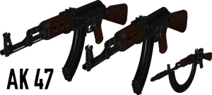 AK-47 v2 - Rigged by ProgammerNetwork