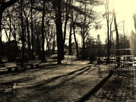 Old Playground by TheFaintPen