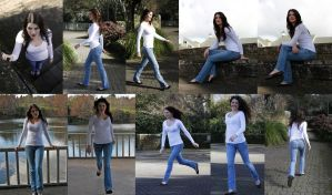 Casual poses set full body by CathleenTarawhiti