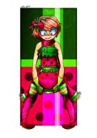 CP: put on all the watermelon clothes by ebazii