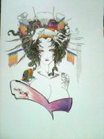 Geisha or Oiran not finish yet by Humanis
