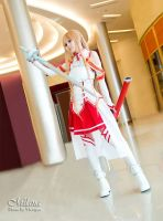 Asuna - Sword Art Online by MilanaPloy