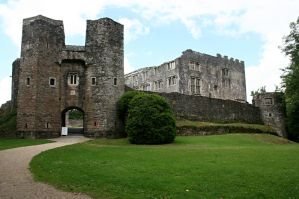Berry Pomeroy Castle 3 by GothicBohemianStock