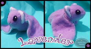 Little Litters - Lavender - Plush by Sparkle-And-Sunshine