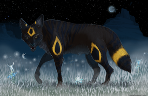Umbreon by cheeny