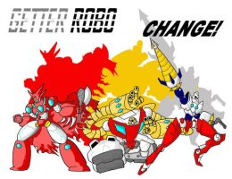 Getter Robo Change by 16th-Nait