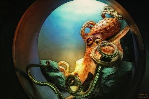 octopus dream by chrissy261