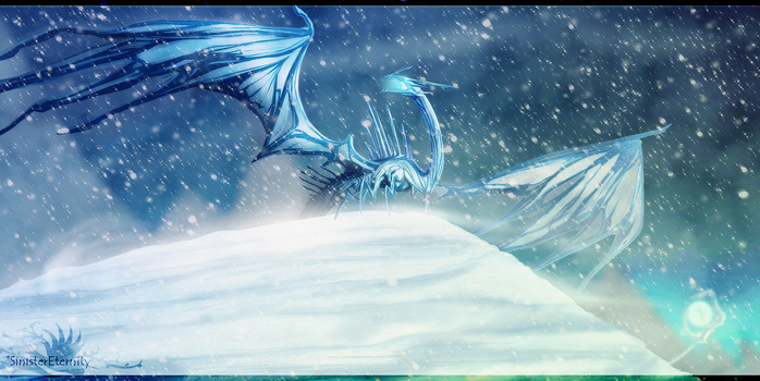 ++ Ice Wyrm Lord ++ by SinisterEternity