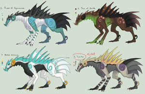 :FREE: Gazerath Dragon Adopts -CLOSED- by Taluns