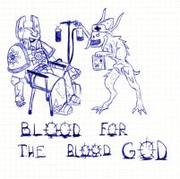 blood for the blood god by paskiman
