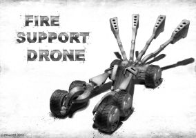 Fire Support Drone by Shad3R